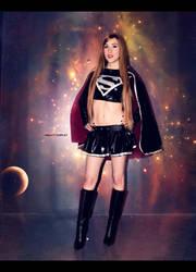 Dark Super Girl by Hekady