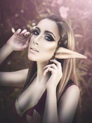 Beauty Elve by Hekady