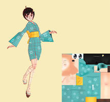 Tsukihi Wires by Poribo