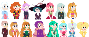 Queens of Mewni Portraits 2 by trashunlimited