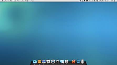 OSX Lion 10.7.3 by klouud