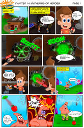 Nicktoons Unite! - Chapter #1 Issue #1 (Page 1) by AleMon1097