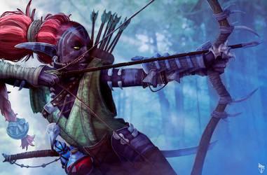 Elven Hunter by josesami