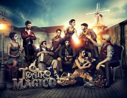 O Teatro Magico / Deluxe CD + DVD by wilminetto