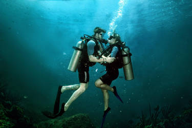 Lovers Divers by wilminetto