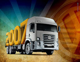 VW Trucks - Print by wilminetto