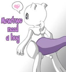 Little Mewtwo by FlyingRotten