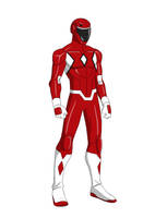 The Red Ranger by thecreator9