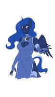 Princess Anthro Luna by thecreator9