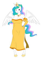 Princess Celestia by thecreator9