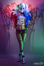 Harley Quinn Suicide Squad by xAndrastax