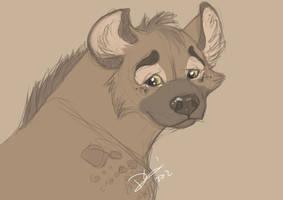 hyena. by Shaguarr