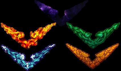Voltron Logo Showcase by Kre-Kael