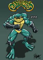 Battletoads - Zitz by Tigerfog