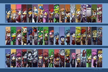 The world of Sonic 2012 by Tigerfog