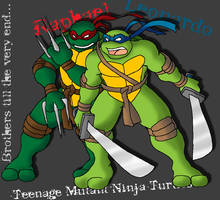 Brothers till the end - TMNT by Tigerfog