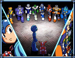 Megaman 3 by Tigerfog