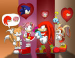 Knuckles the bachelor by Tigerfog