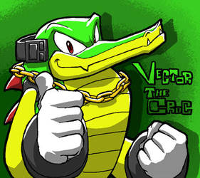 Vector the crocodile. by Tigerfog