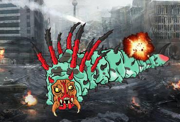 Unused Kaiju: Millistopheles by guiron