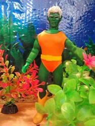 Manphibain Mego Doll by guiron