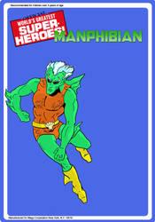 Manphibian Mego Backboard by guiron
