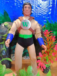 custom Water Master mego doll by guiron
