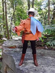 Custom Masked Ranger Mego figure by guiron