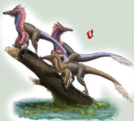 Homosexual Dinosaur Theory by AlbinoOctopus