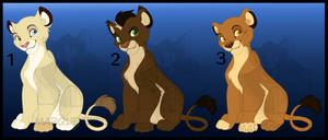 Sweet Cubs Adopts - OTA OPEN - by Marquez0725