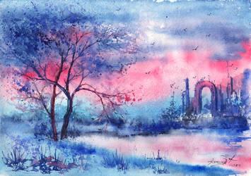 Evening mystery by AnnaArmona