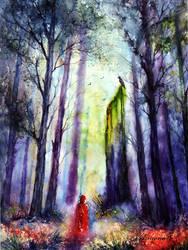 Forgotten path. by AnnaArmona