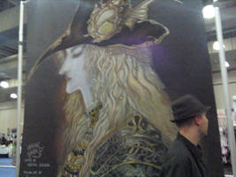 NY Anime Fest Chalk Painting by tsunami264