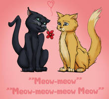 Valentine Kitties by AvannaK