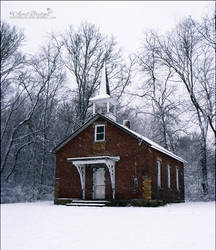 Schoolhouse of Old by babygurl83