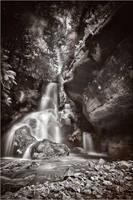 Saxony waterfall by Torsten-Hufsky