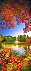 Dresden Zwinger in autumn no2 by Torsten-Hufsky