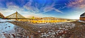 Yellow river - Dresden by Torsten-Hufsky