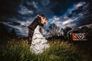 VW Bulli wedding by Torsten-Hufsky