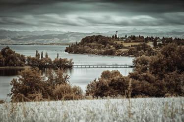 Mainau Island - Infrared by Torsten-Hufsky