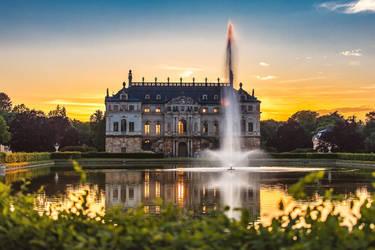 The Great Garden in Dresden II by Torsten-Hufsky