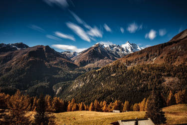Grossglockner in autumn by Torsten-Hufsky