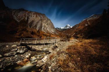 Grossglockner in autumn II by Torsten-Hufsky