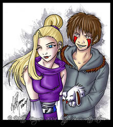 Ino and Kiba - DNM by mette-miko