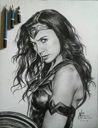 Wonder Woman by boredomz
