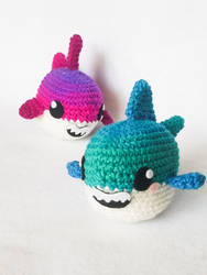 Baby Sharks by milliemouse579