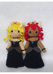 Bowsette Dolls by milliemouse579
