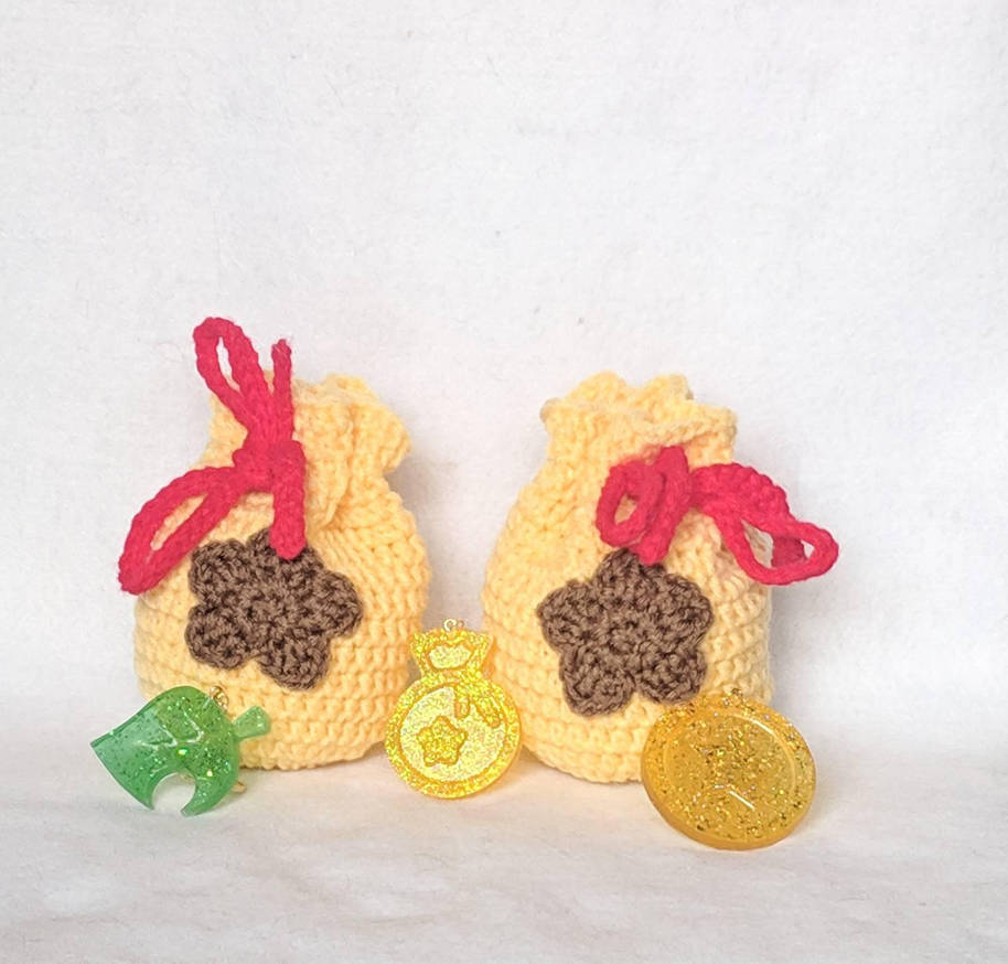 Animal Crossing Bell Bags by milliemouse579