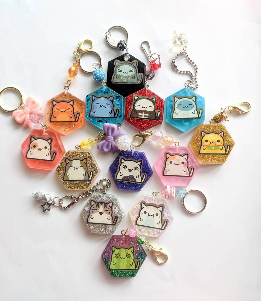 Klepto Cat Charms by milliemouse579
