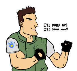 Resident Evil 1's Chris Redfield by Agent-Jin